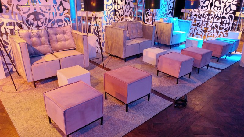 Deco Event design lounge serie