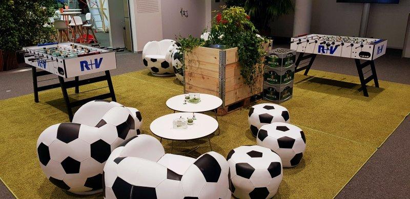 Fußball Event Ausstattung mieten