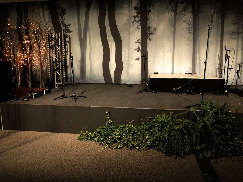 Pflanzen Dekoration bei Events