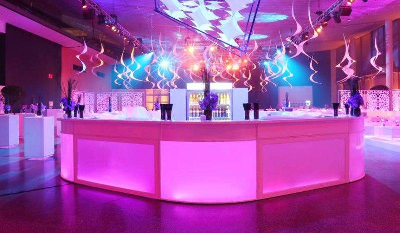 elegante Lounge und after party
