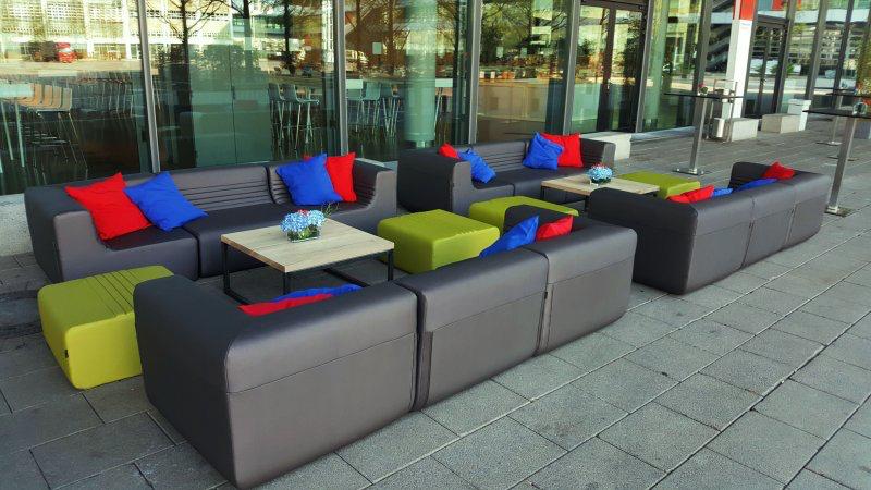 Lounge Mobiliar mieten Frankfurt Messe