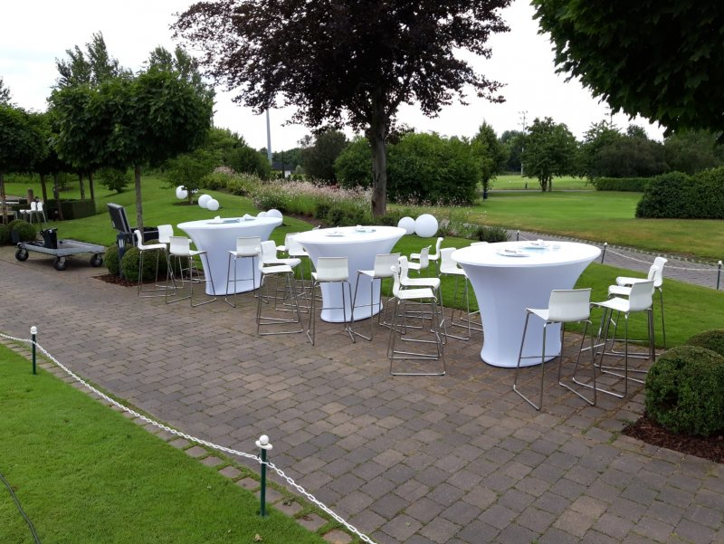 outdoor lounge golfturnier